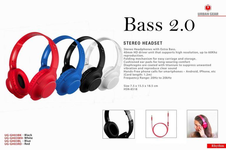 Bass 2.0 Stereo Headset