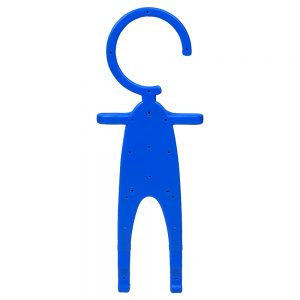 Silicon Man Flexible Mobile Holder Key-chain Stand