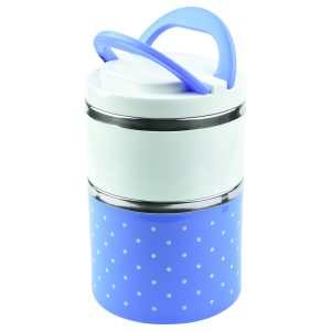 TGS – Stainless Steel Insulated Colorful Lunch Box for Office with Two Layer
