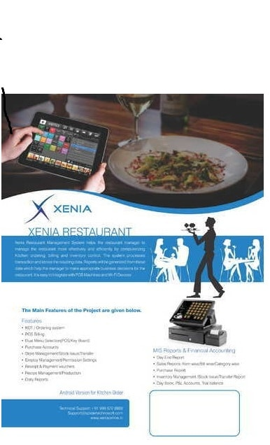 Restaurant Management Software-genpros.in